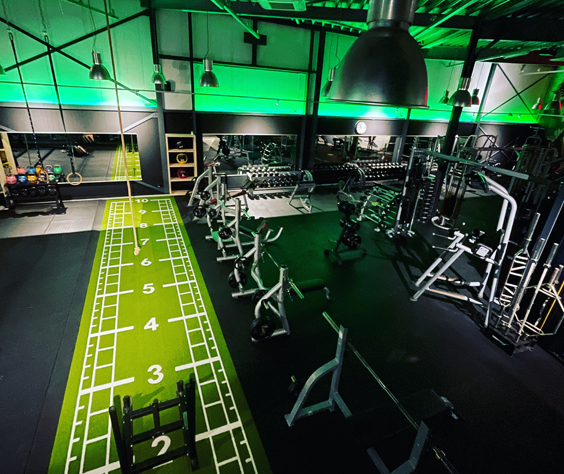 Homepage Fitness